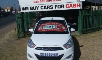 2013 HYUNDAI I10 1.25 FLUID CARS FOR SALE IN BOKSBURG full