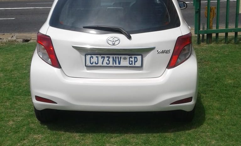 2013 toyota yaris 1.0 for sale in boksburg full